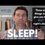 These 6 Things Will Give You The Best Night's Sleep